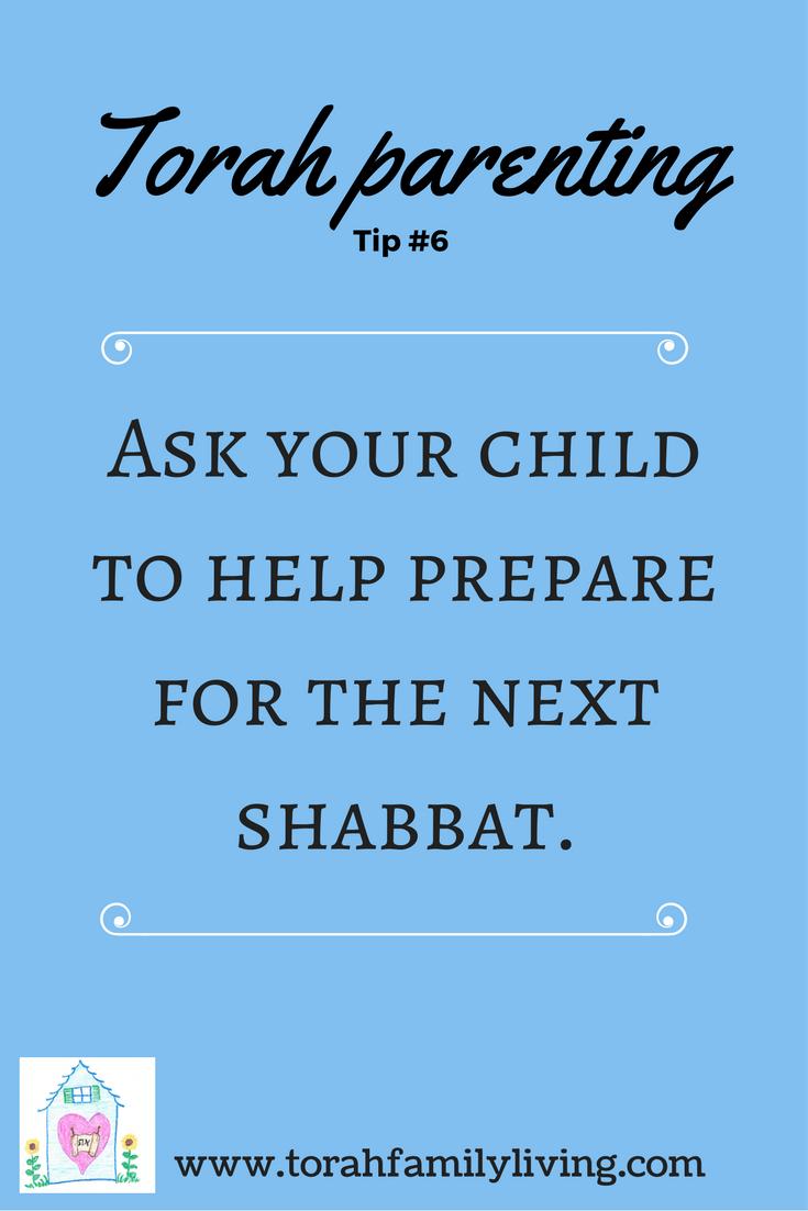 30 days of Torah parenting ~ Day 6