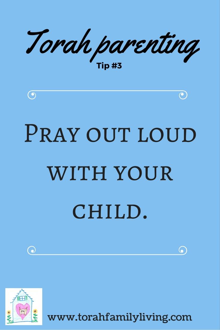 30 days of Torah parenting ~ Day 3