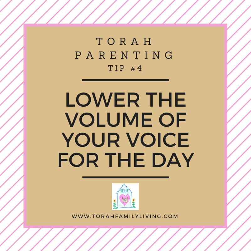 30 days of Torah parenting ~ Day 4