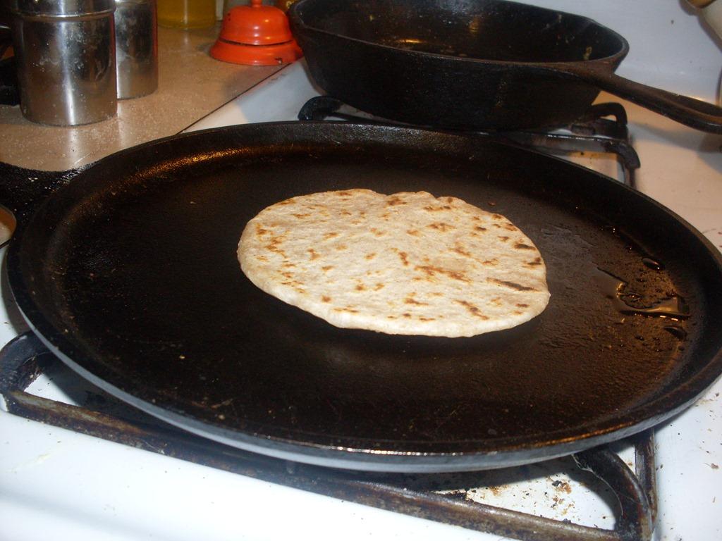 Shabbat tortillas!