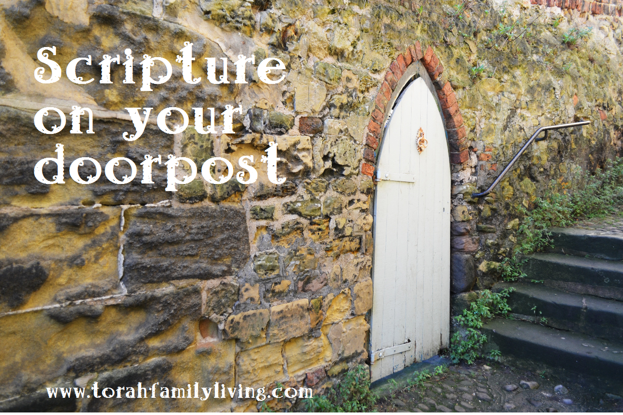 Scripture on your doorpost