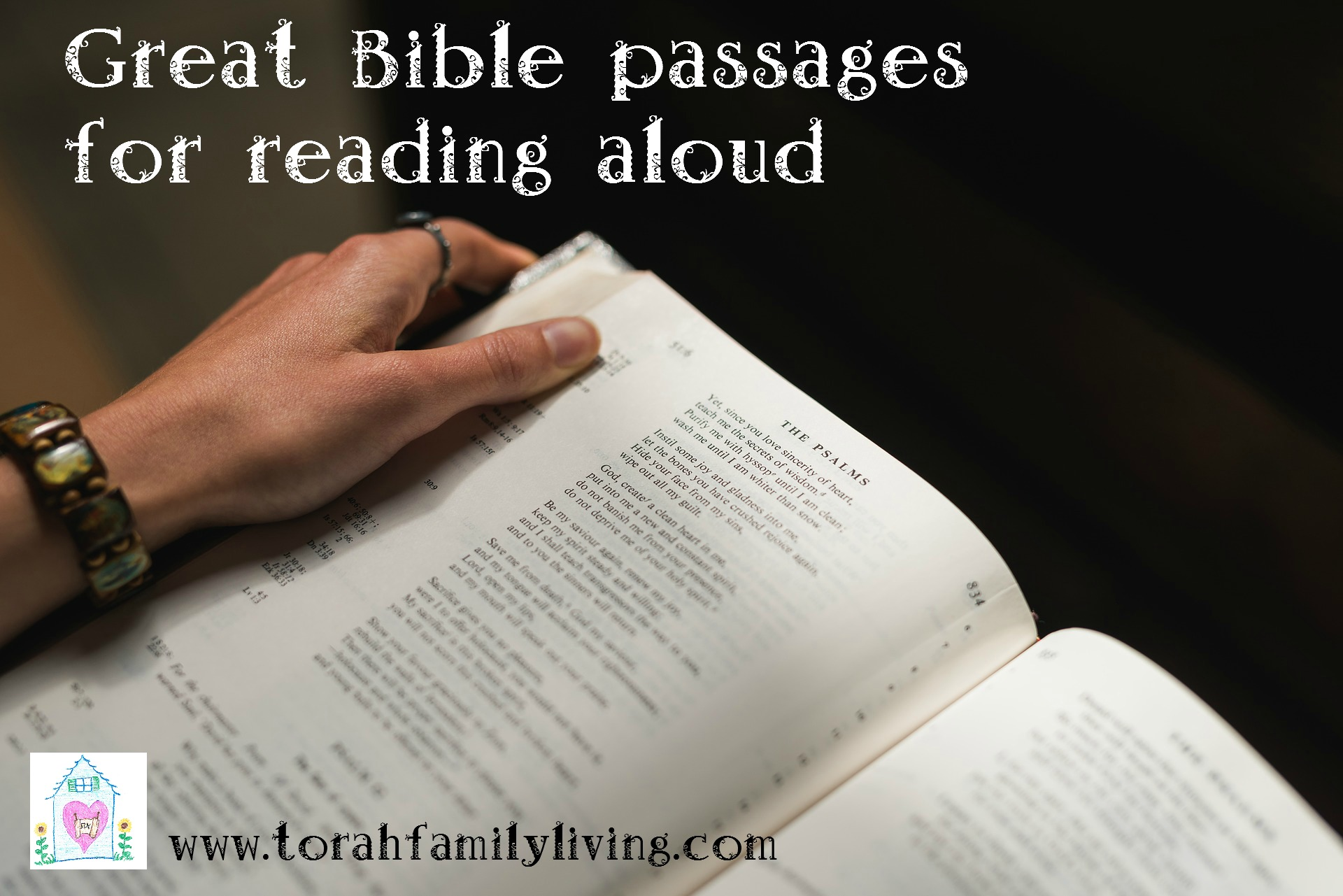Great Bible passages for reading aloud