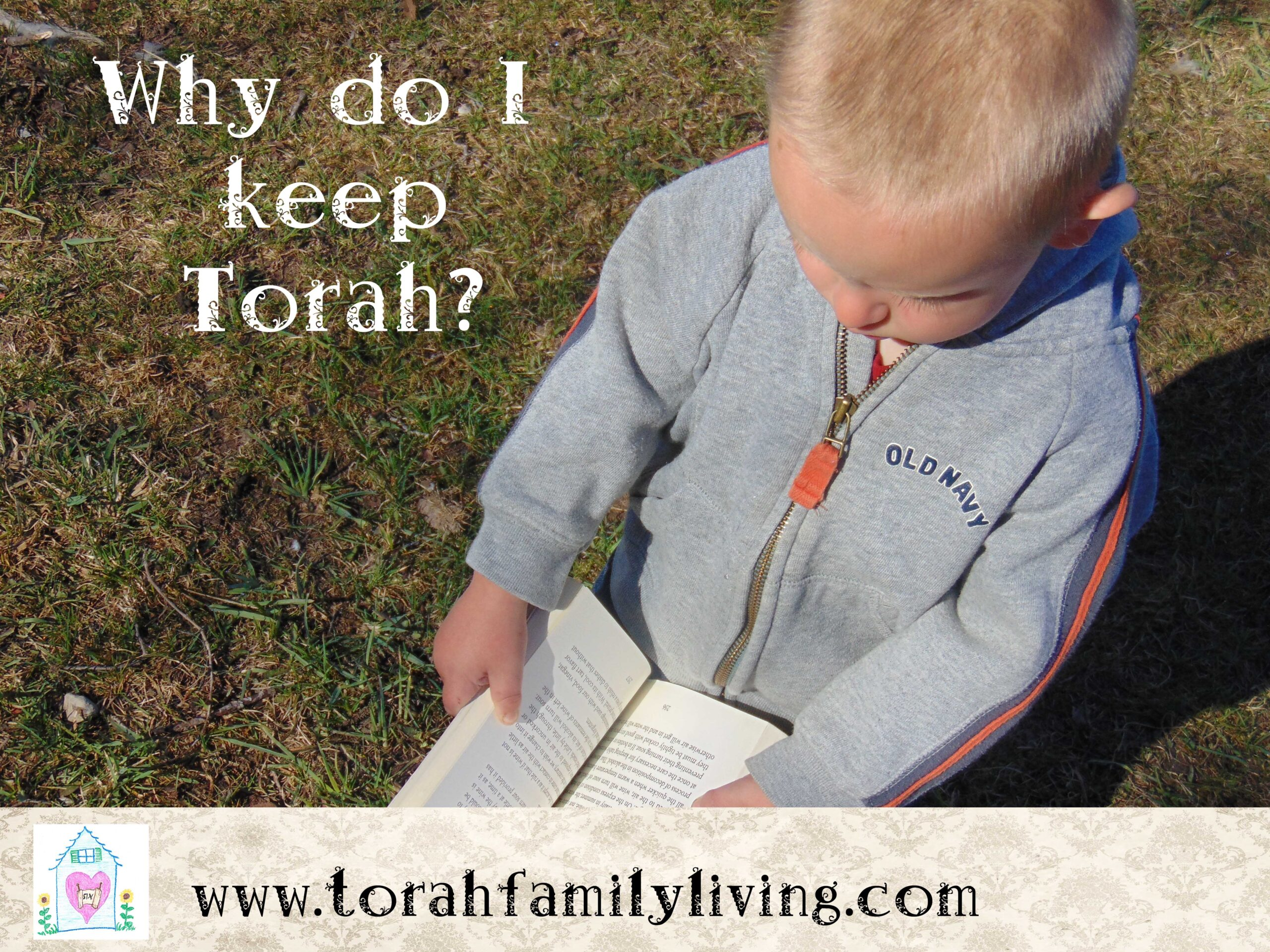 Why do I keep Torah?