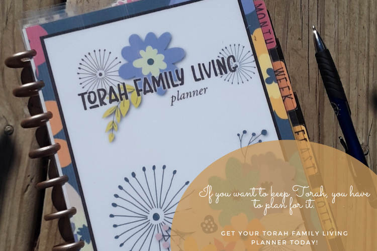 If you want to keep Torah, you have to plan for it.